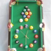 Đồng hồ hình bàn bi-a